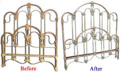 Iron Bed Frame Before and After Image 4 (23605 bytes)